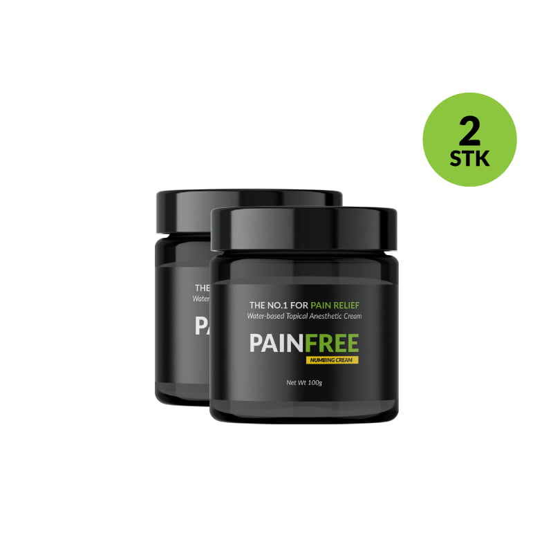 PAINFREE 2stk a 30g produktvariant til shoppen